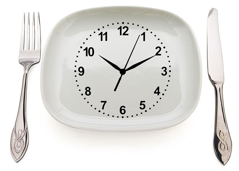 Ter Horários Regulares para Comer