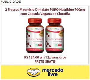 Magnésio Dimalato Nutriblue Mercado Livre